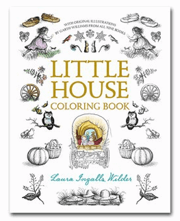 Little House on the Prairie Coloring Book