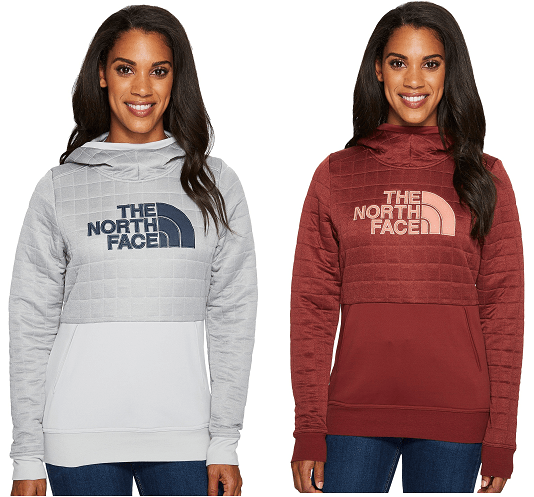 The North Face Half Dome Quilted Pullover Hoodie $37.50 (Reg $75)