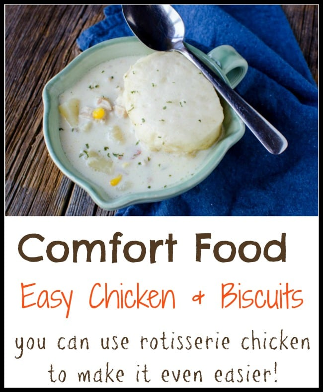 Chicken And Biscuits Recipe Easy Comfort Food Thrifty Nw Mom