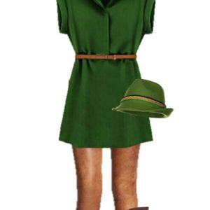 DIY Peter Pan Costume using Clothing You Can Wear Again