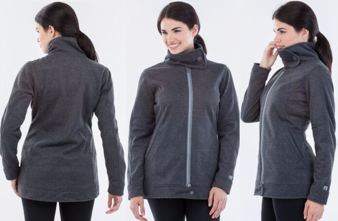 Avalanche Women's Heather Long Coat