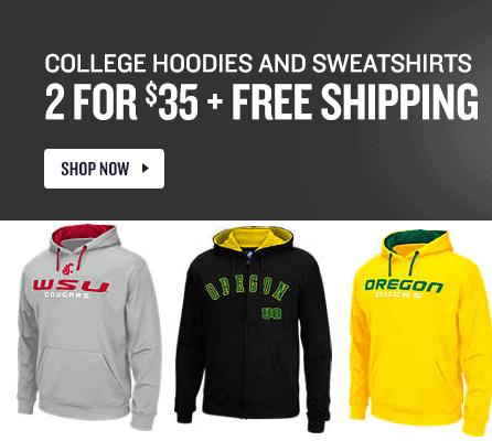 Finish Line – NCAA Hoodies on Sale for $14.99