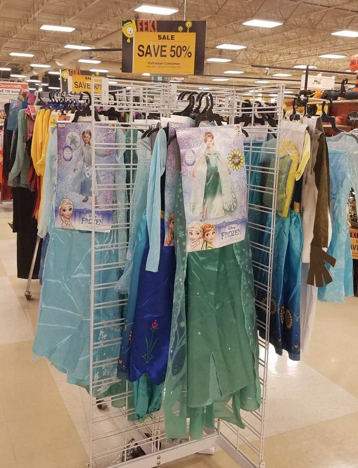 Frozen Costumes on Sale at Fred Meyer