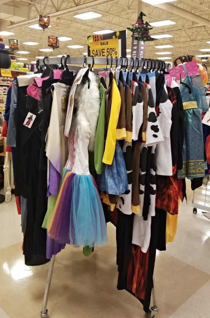 Halloween Costume Sale at Fred Meyer
