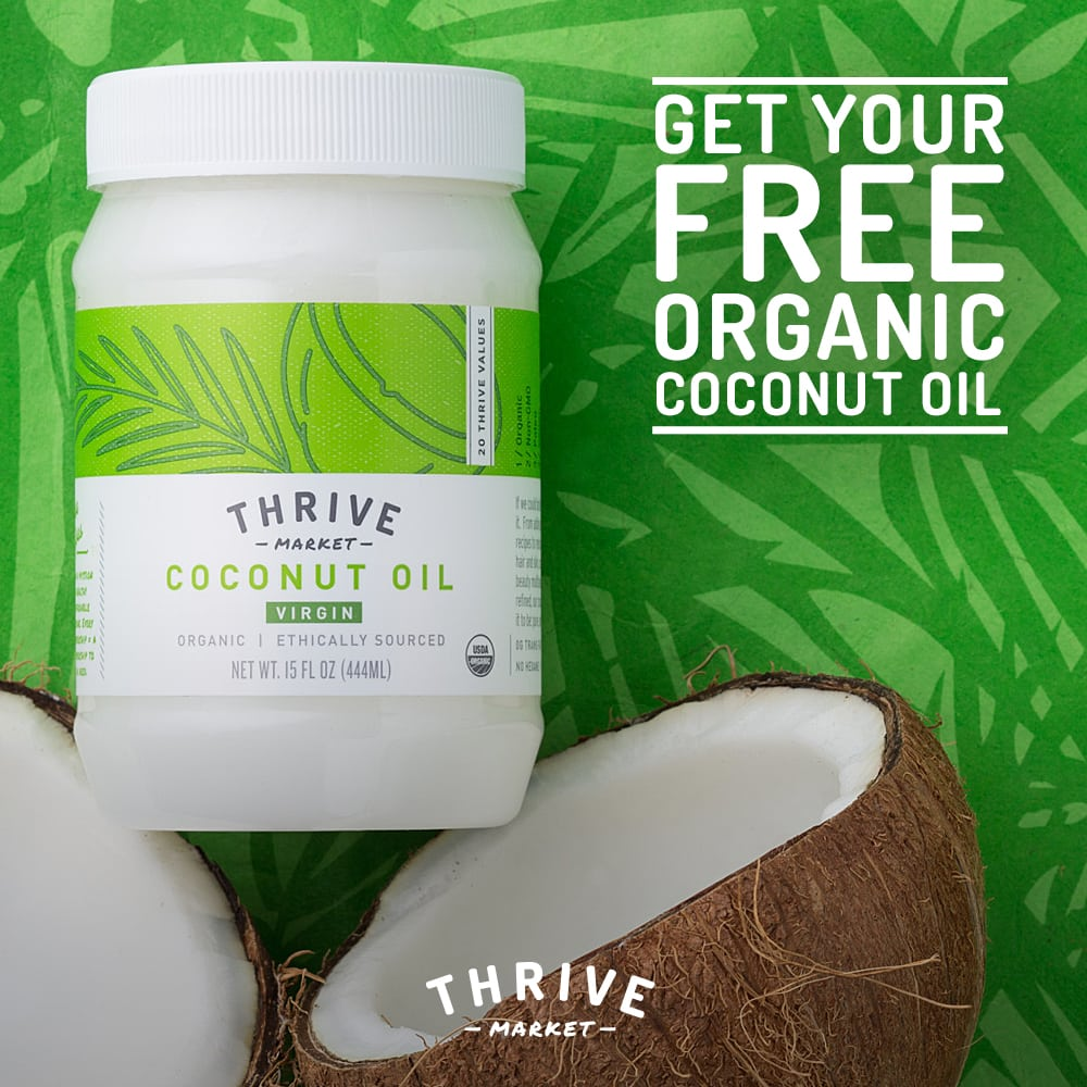 Free Organic Coconut Oil