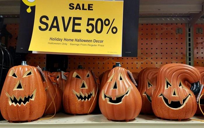 Light Up Pumpkins on Sale at Fred Meyer