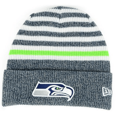 db6a30b6c32 New Era Striped Cuff Seattle Seahawks Beanie  12.99! (Cougs