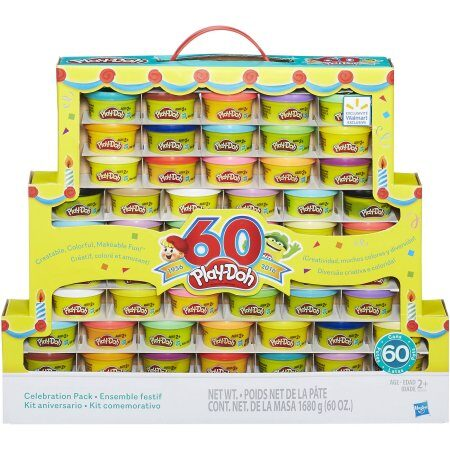 Play-Doh 60th Anniversary Celebration 60 Pack