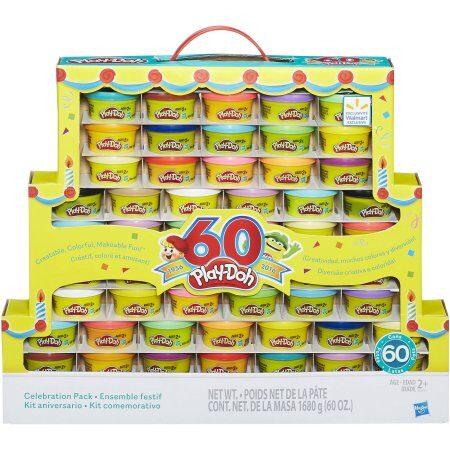 Play-Doh 60th Anniversary Celebration 60 Pack $14.94 (Reg $19.94)