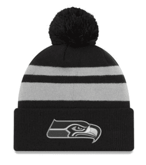 Seattle Seahawks New Era Pom hat