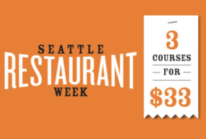 Seattle Restaurant Week