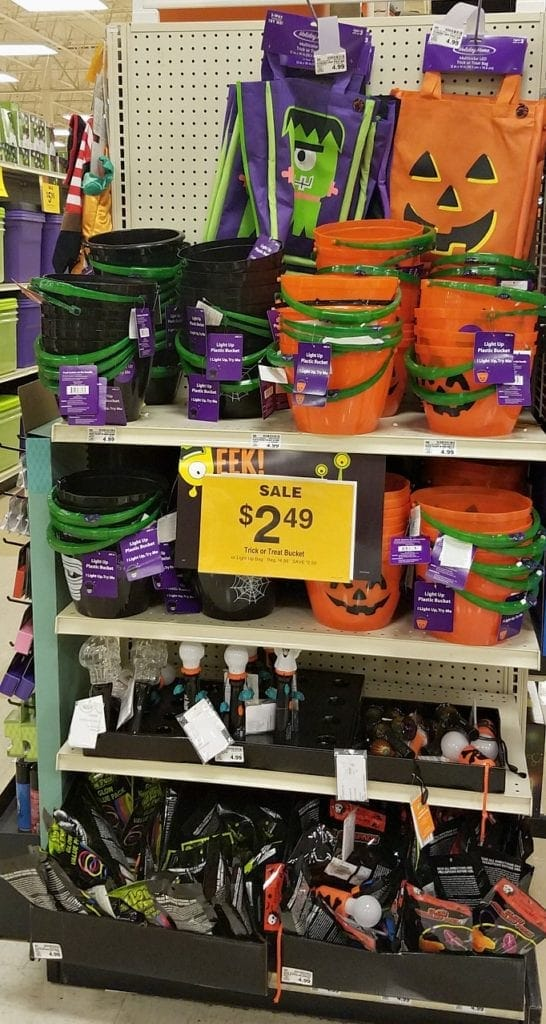 Trick or Treat Bags on Sale at Fred Meyer