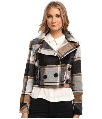 dollhouse Double Breasted Notch Collar Crop Jacket $17.99 (Reg $69.99)