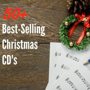 50+ Best Selling Christmas CD's on Amazon if you need some new Christmas music for the holidays!