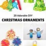 20 Adorable DIY Christmas Ornaments