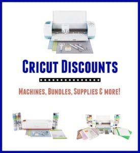 Cricut Discounts December Sale