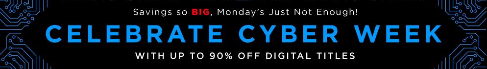 Cyber Week Digital Magazine Sale – Up to 90% Off!