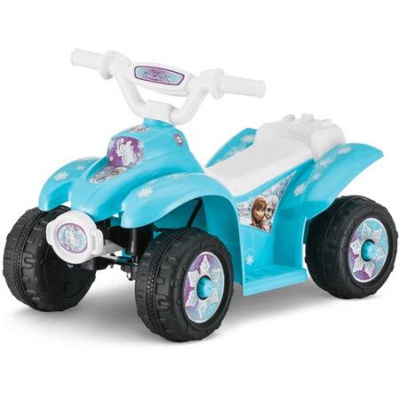 Disney Frozen 6V Battery Powered Ride-On Quad $39 (Reg $79)