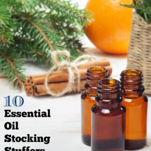 Essential Oil Stocking Stuffers - 10 Gift Ideas under $20