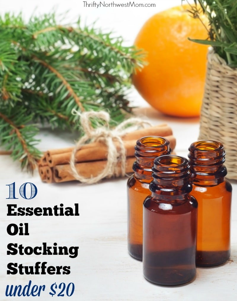 Essential Oil Stocking Stuffers – 10 Gifts on a Budget