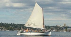 Sunday boat rides at Center for Wooden Boats