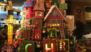 Gingerbread Houses at the Sheraton Seattle