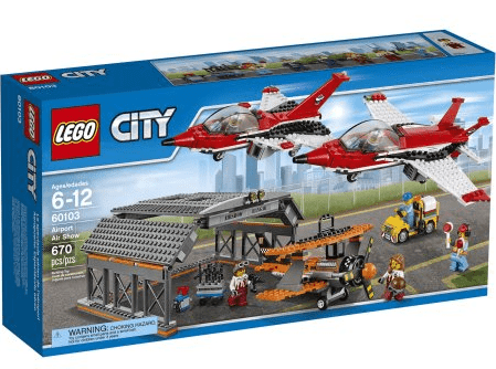 LEGO City Airport Airport Air Show Building Set