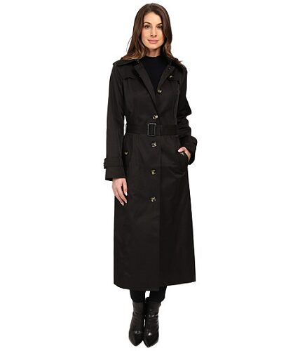 london-fog-belted-single-breasted-trench-coat