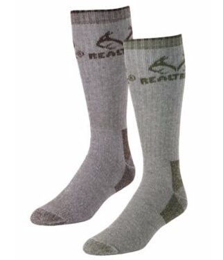 Realtree Outfitters Men's All-Season Boot Socks