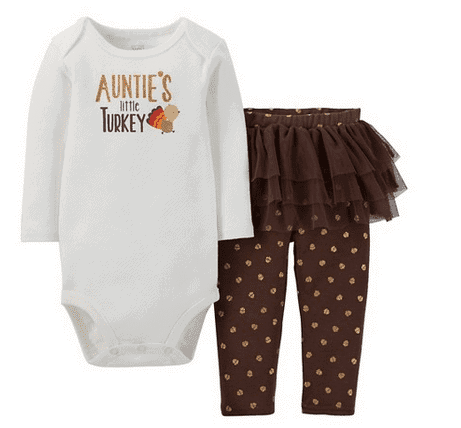 Carters Baby Thanksgiving Outfit