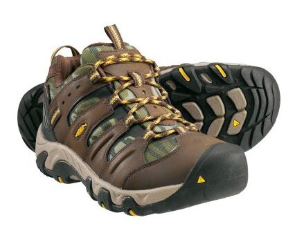 Keen Mens Low Hiking Boots