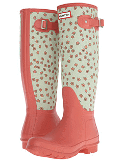 Hunter Original Tall Festival Floral boots