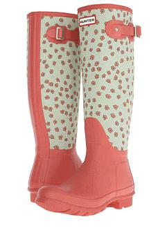 Hunter Original Tall Festival Floral boots