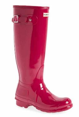 Hunter High Gloss Rain Boots
