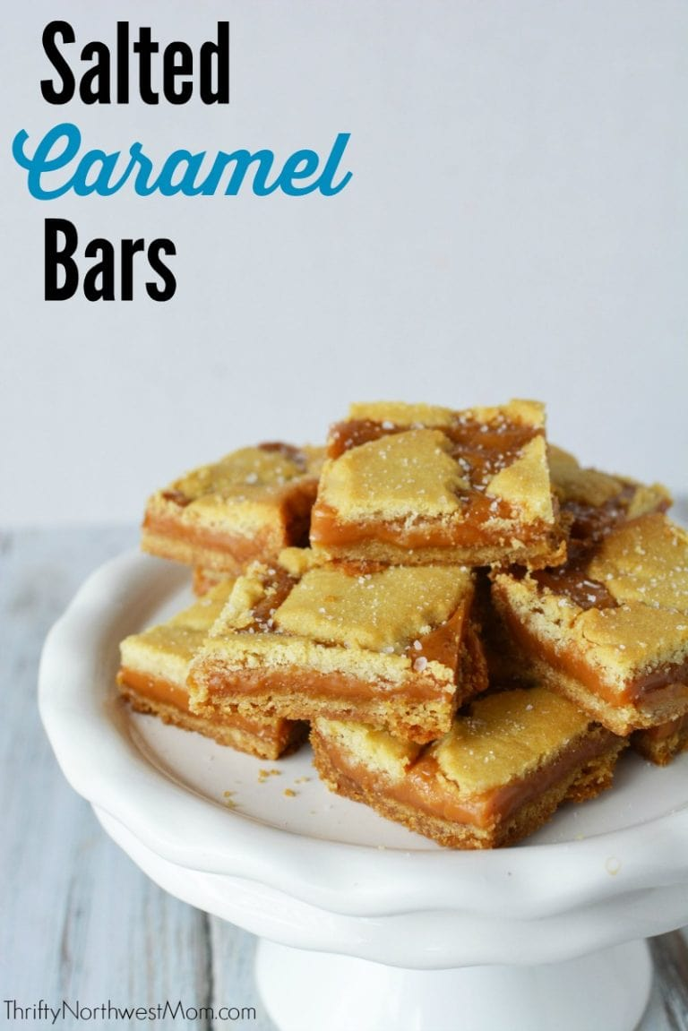 Salted Caramel Bars Recipe – Simple & Delicious