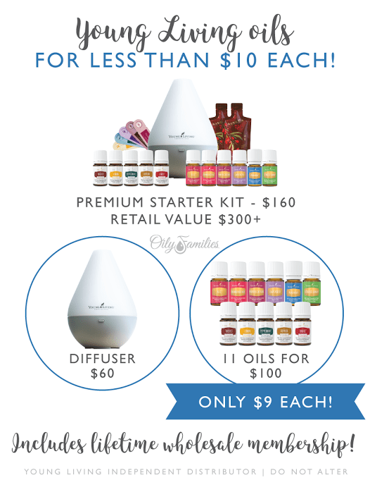 Young LIving Essential Oils Breakdown of Costs