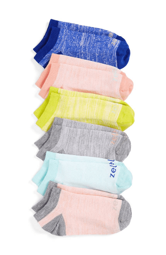 Zella Girl Ankle Socks 6 pack