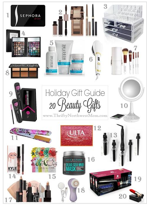 Holiday Gift Guide for Beauty Products
