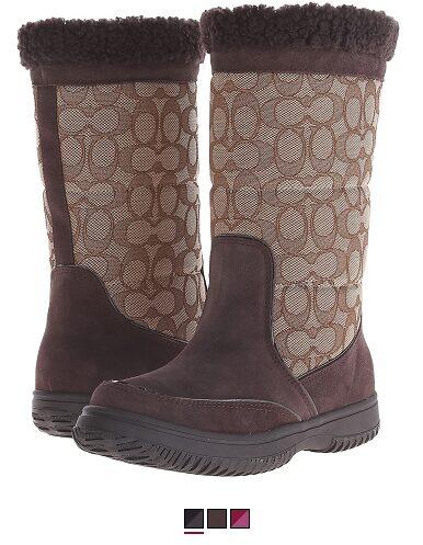 COACH Sherman Boots – $59.99 (Reg $195)