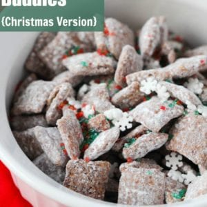 Chex Mix Muddy Buddies Christmas Version