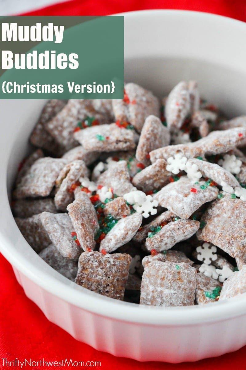 Chex Mix Muddy Buddies Christmas Blend Thrifty Nw Mom