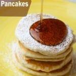 Eggnog Pancakes  – Easy Christmas Morning Breakfast Idea