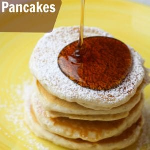 Eggnog Pancakes - An Easy Christmas Morning Breakfast Idea