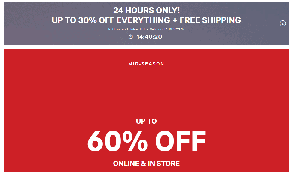 H&M Sale: 20% Off With Newsletter Sign up