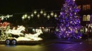 Santa's arrival at Country Village