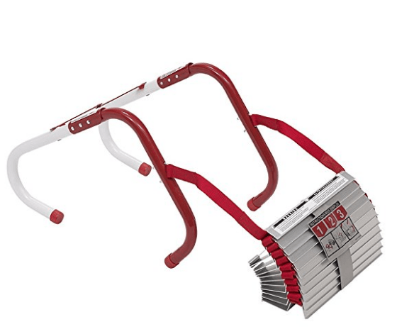Kidde Two-Story Fire Escape Ladder with Anti-Slip Rungs