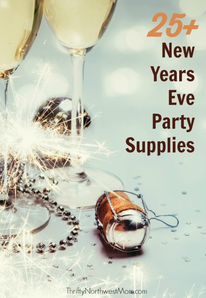 25+ New Years Eve Party Supplies