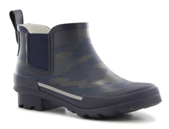 Boys Twin Gore Solid Rain Boots