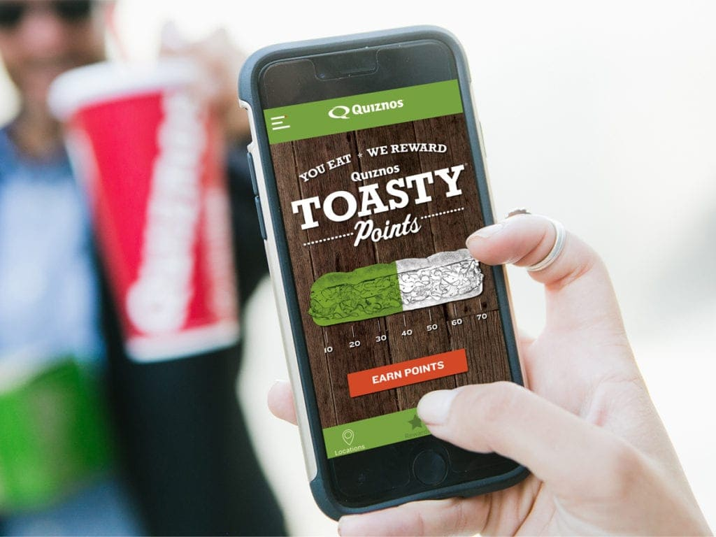 Quiznos FREE Sandwich with App + Earn More FREEBIES at Quiznos With Points!