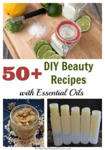 50+ DIY Beauty Recipes with Essential Oils